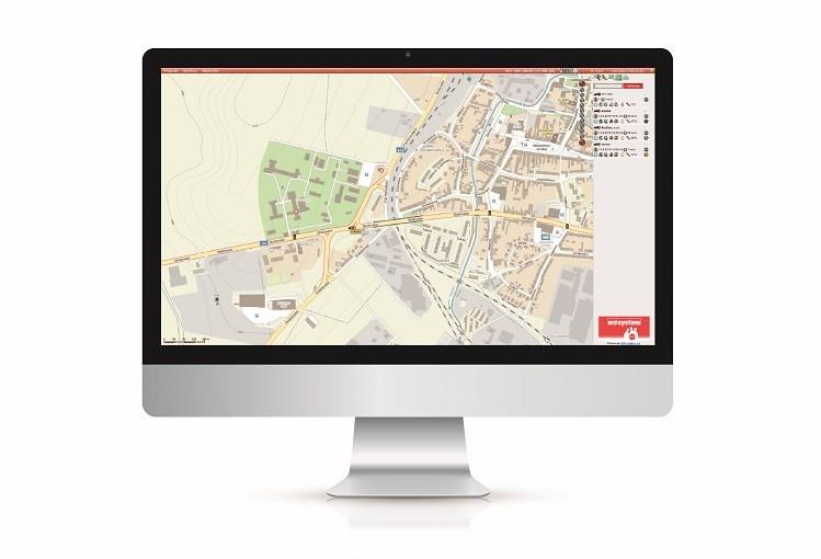Webový portál pro sledování vozidel ONI system